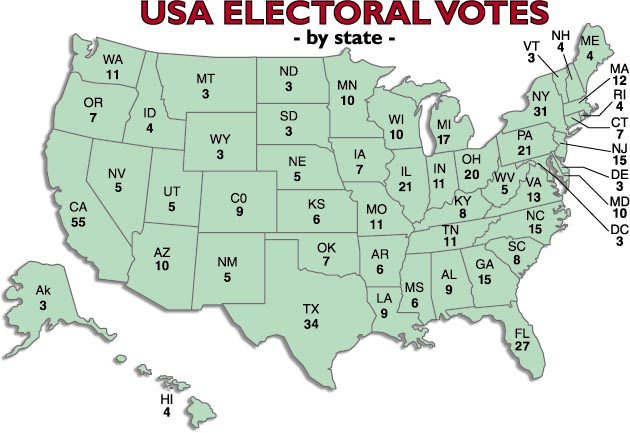 2012 Presidential Election – How the Map is Looking | Political ...