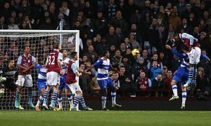 Christian Benteke's header gave Villa a much needed win on Tuesday night