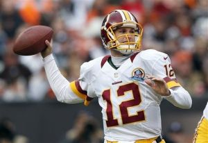 Redskins rookie QB, Kirk Cousins, was impressive in his first start in place of the injured RG3
