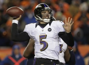 Flacco has upped his game once again this postseason