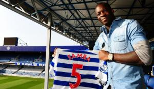 Samba claims the number 5 and a 6 figure salary at QPR