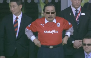 Unlike on his trousers, Vincent Tan does not keep a tight belt on Cardiff's transfer budget