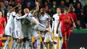 Shelvey had an up-and-down night against his old club