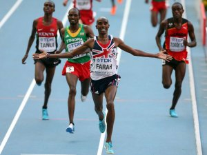 Mo Farah is now the double Olympic and World Champion in 5,000m and 10,000m