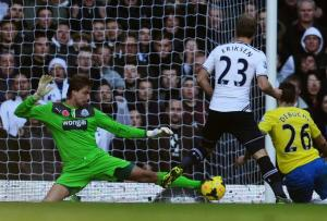 In their last fixture, Spurs could not get Krul to be kind