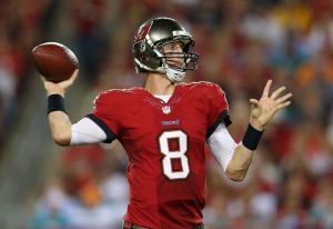 Mike Glennon led Tampa to their first win of 2013 against the Dolphins