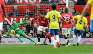 Cabaye's deflected winner for Newcastle condemned Man United to their third home defeat of the season