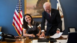 The VP...and some former Senator from Delaware