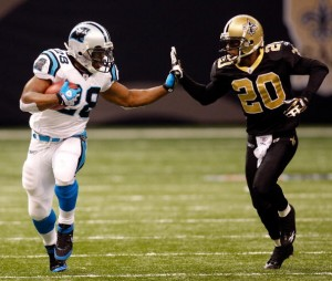 The Saints and Panthers seek to get the upper in the NFC South