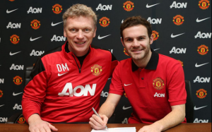 One matter already resolved in the January transfer window - Juan Mata