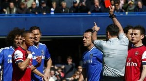 Referee Mark Clattenburg Andre Marriner doesn't know his Ox from his Gibbs