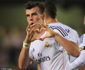 I miss Bale's play, if not his diving and this Bieber-esque goal celebration