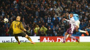YaYa Toure scores his 20th - and best - goal of the campaign