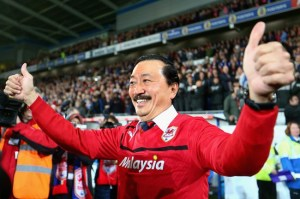 Vincent Tan knows how to read a crowd...