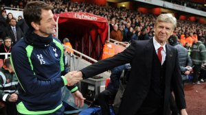 Tim Sherwood meets his favorite team's manager