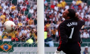 England v Brazil 2002 Fram the Vault