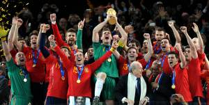 After years of underachievement, Spain finally won the World Cup in 2010