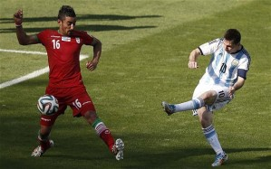 Messi strikes late against Iran to give Argentina the victory