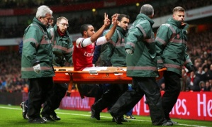Walcott might not have enough fingers this time to show the score