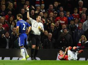 Phil Dowd's decision to send off Ivanovic was beyond explanation