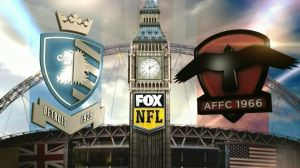 Fox used English Football style logos for the Wembley game