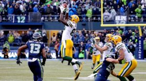 To be fair, if Brandon Bostick hadn't gone for the ball, Jordy Nelson only had AN EASY BLOODY CATCH